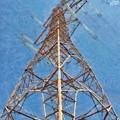 High Voltage Pylon by George Atsametakis