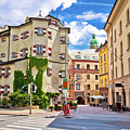 Historic Street Of Innsbruck View by Brch Photography