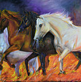 4 Horses Of The Apocalypse by Olga Kaczmar
