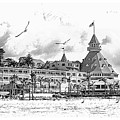 Hotel Del Coronado by Margie Wildblood