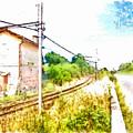 House On The Railway by Giuseppe Cocco