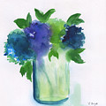 4 Hydrangeas by Frank Bright
