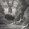 Illustration By Gustave Dore 1832-1883 by Vintage Design Pics