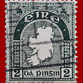 Irish Postage Stamp by James Hill