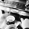 Italian Espresso Expresso Coffee Making Preparation With Machine by Jacek Malipan