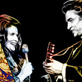 June Carter And Johnny Cash Collection by Marvin Blaine