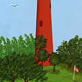Jupiter Inlet Lighthouse by Frederic Kohli