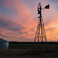 Kansas Sunset by Larry Pacey