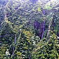 Kauai Water Fall by Jim Lapp