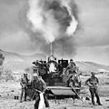 Korean War: Artillery by Granger