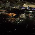 Laguardia Airport Aerial View by David Oppenheimer
