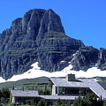 Lodge In Glacier National Park by Carl Purcell