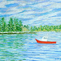 Maine Lobster Boat by Collette Hurst