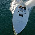 Mercury Race Boat by Steven Lapkin