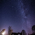 Milky Way Over The Ruins Of Strata Florida Abbey, Wales Uk by Keith Morris