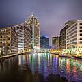 Milwaukee Wisconcin City And Street Scenes by Alex Grichenko