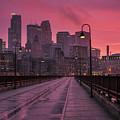 Minneapolis Skyline by Joe Mamer