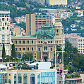 Monte Carlo Cityscape by Marek Poplawski
