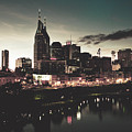 Nashville At Dusk by Library Of Congress