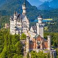 Neuschwanstein Fairytale Castle by JR Photography