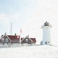 Nobska Light House by Michael Petrizzo