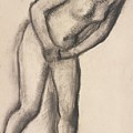 Nude Study by Edgar Degas