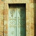 old suburb in Jerusalem. by Shlomo Zangilevitch