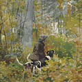 On The Trail by Winslow Homer