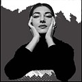 Opera Singer Maria Callas No Date-2010 by David Lee Guss