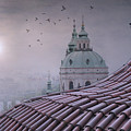 Prague Roof Tops by Juli Scalzi