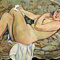 Reclining Nude by Suzanne Valadon