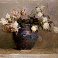 Roses by Abbott Handerson Thayer
