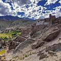 Ruins At Basgo Monastery Leh Ladakh Jammu And Kashmir India by Rudra Narayan  Mitra