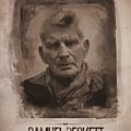 Samuel Beckett 02 by Afterdarkness