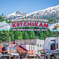 Scenery Around Alaskan Town Of Ketchikan by Alex Grichenko