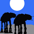 Star Wars At-at Collection by Marvin Blaine