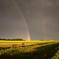 Storm Clouds Prairie Sky by Mark Duffy