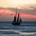 Sunset Key West  by Davids Digits