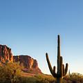 Superstition  Mountains Arizona by Jon Manjeot
