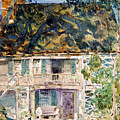 The Brush House by Childe Hassam