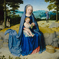 The Rest On The Flight Into Egypt by Gerard David