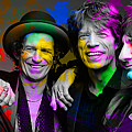 The Rolling Stones by Marvin Blaine