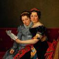 The Sisters Zenaide And Charlotte Bonaparte by Mountain Dreams