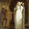 The Sleepwalking Scene Act V Scene I From Macbeth Henry Pierce Bone by Eloisa Mannion