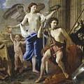 The Triumph Of David by Nicolas Poussin