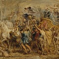 The Triumph Of Henry Iv by Peter Paul Rubens
