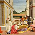Three Miracles Of Saint Zenobius by Sandro Botticelli