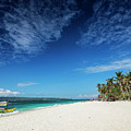 Traditional Filipino Ferry Taxi Tour Boats Puka Beach Boracay Ph by Jacek Malipan