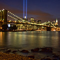 Twin Towers Of Light by June Marie Sobrito