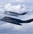 Two F-117 Nighthawk Stealth Fighters by HIGH-G Productions